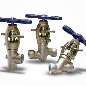 Clampseal globe valves